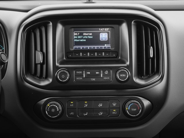 2016 Chevrolet Colorado Prices and Values Extended Cab Work Truck 4WD stereo system