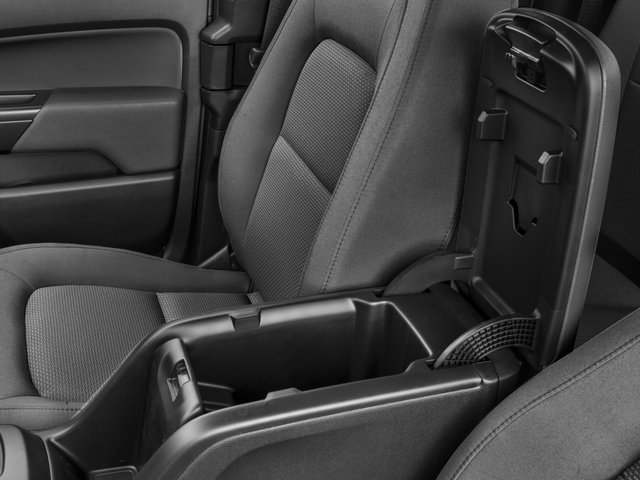 2016 Chevrolet Colorado Prices and Values Extended Cab Work Truck 4WD center storage console