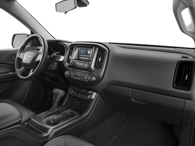 2016 Chevrolet Colorado Prices and Values Extended Cab Work Truck 4WD passenger's dashboard