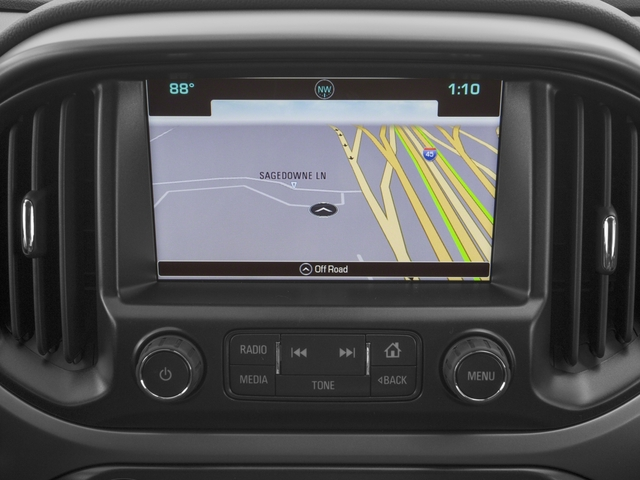 2016 Chevrolet Colorado Prices and Values Extended Cab Work Truck 4WD navigation system