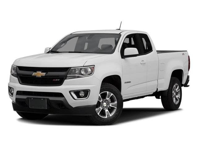 2016 Chevrolet Colorado Prices and Values Extended Cab Z71 2WD side front view