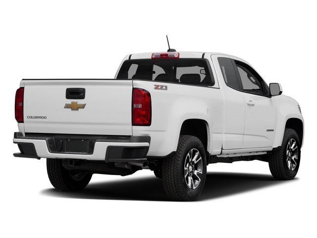 2016 Chevrolet Colorado Prices and Values Extended Cab Z71 2WD side rear view