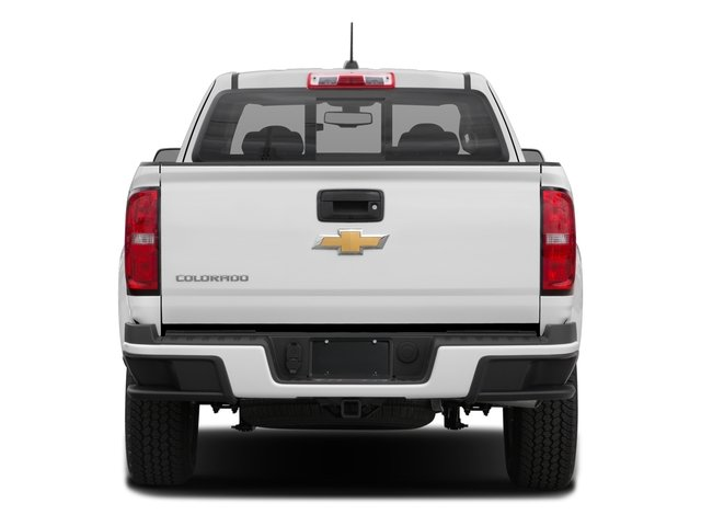 2016 Chevrolet Colorado Prices and Values Extended Cab Z71 2WD rear view