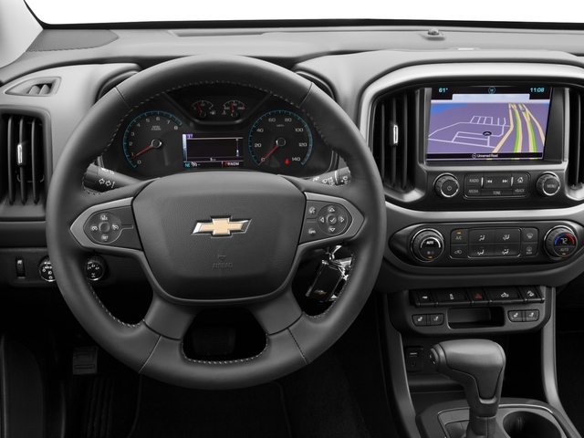 2016 Chevrolet Colorado Prices and Values Extended Cab Z71 2WD driver's dashboard