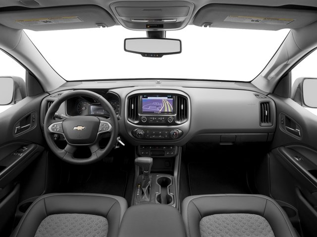 2016 Chevrolet Colorado Prices and Values Extended Cab Z71 2WD full dashboard