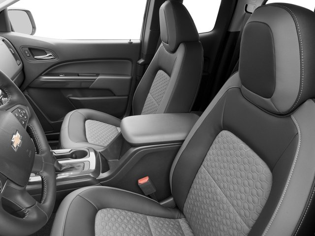 2016 Chevrolet Colorado Prices and Values Extended Cab Z71 2WD front seat interior