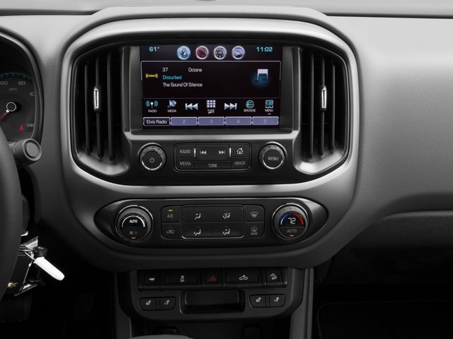 2016 Chevrolet Colorado Prices and Values Extended Cab Z71 2WD stereo system
