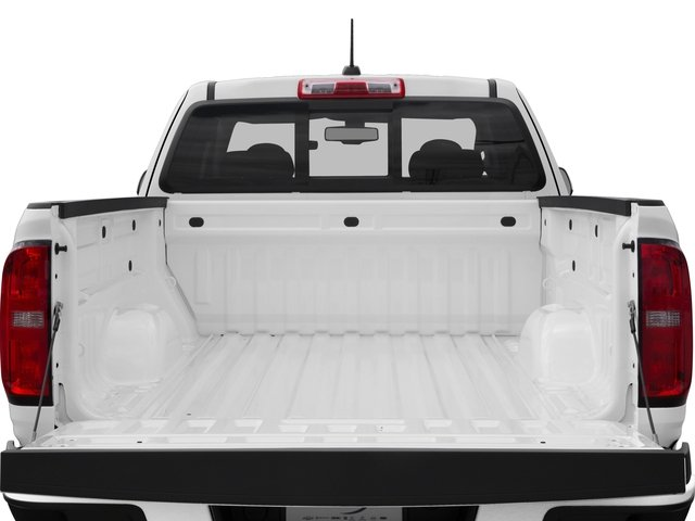 2016 Chevrolet Colorado Prices and Values Extended Cab Z71 2WD open trunk