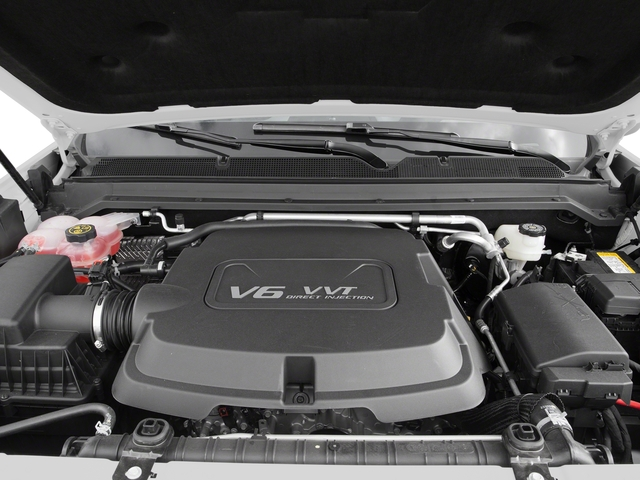 2016 Chevrolet Colorado Prices and Values Extended Cab Z71 2WD engine