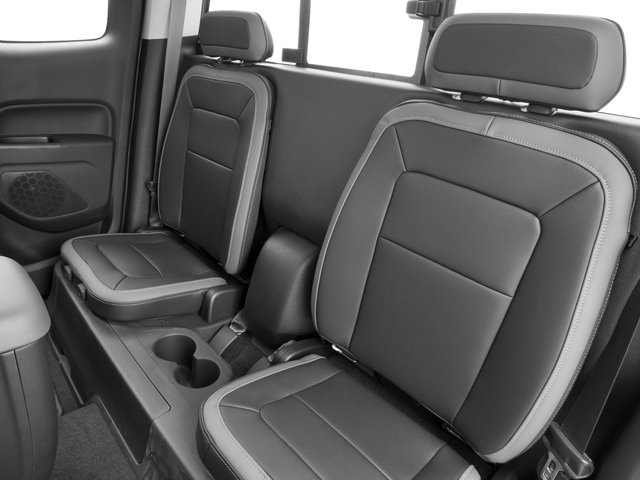 2016 Chevrolet Colorado Prices and Values Extended Cab Z71 2WD backseat interior