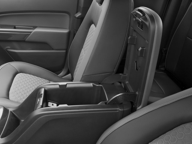 2016 Chevrolet Colorado Prices and Values Extended Cab Z71 2WD center storage console