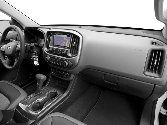2016 Chevrolet Colorado Prices and Values Extended Cab Z71 2WD passenger's dashboard