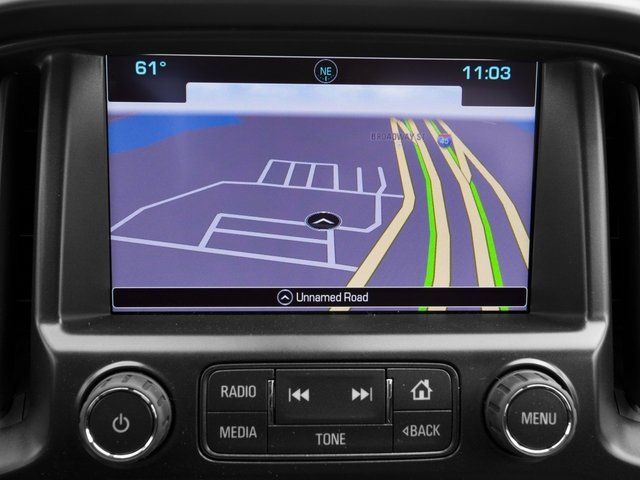 2016 Chevrolet Colorado Prices and Values Extended Cab Z71 2WD navigation system