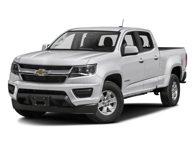 2016 Chevrolet Colorado Prices and Values Crew Cab Work Truck 4WD side front view