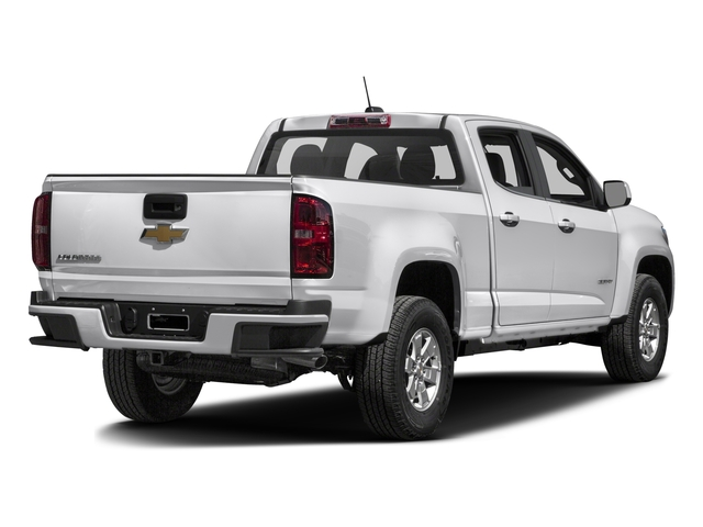 2016 Chevrolet Colorado Prices and Values Crew Cab Work Truck 4WD side rear view