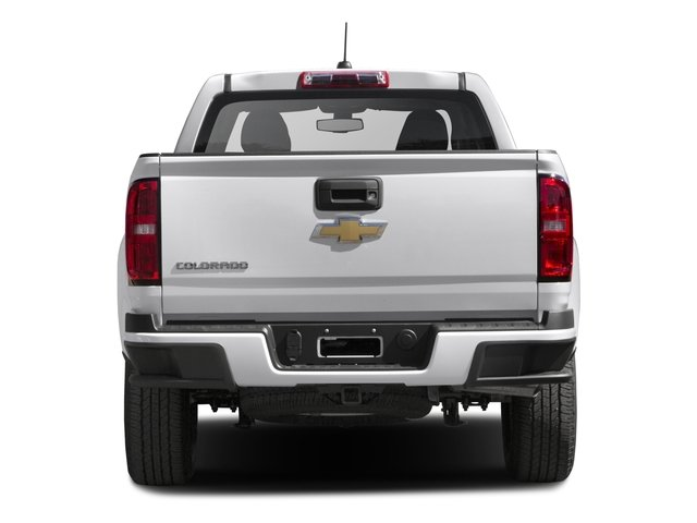 2016 Chevrolet Colorado Prices and Values Crew Cab Work Truck 4WD rear view