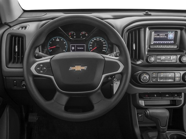 2016 Chevrolet Colorado Prices and Values Crew Cab Work Truck 4WD driver's dashboard