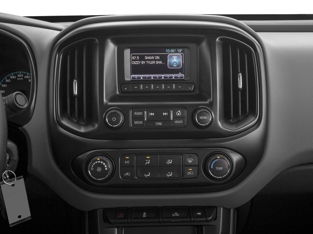 2016 Chevrolet Colorado Prices and Values Crew Cab Work Truck 4WD stereo system