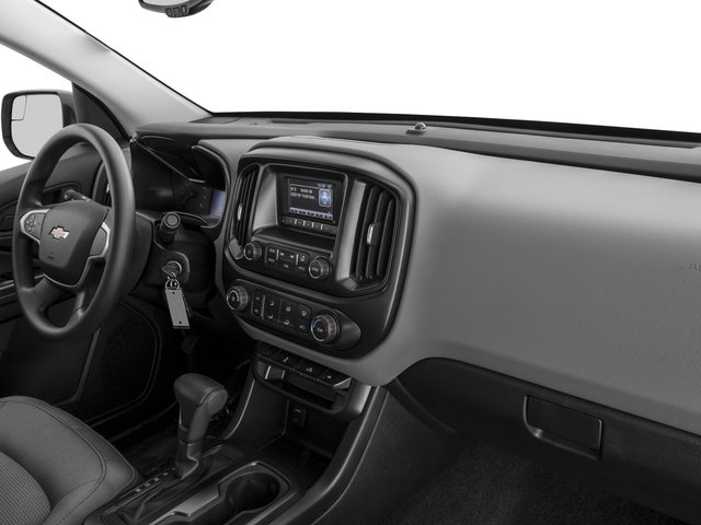 2016 Chevrolet Colorado Prices and Values Crew Cab Work Truck 4WD passenger's dashboard