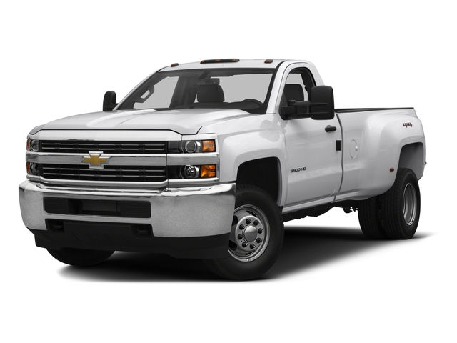 2016 Chevrolet Silverado 3500HD Prices and Values Regular Cab LT 2WD side front view