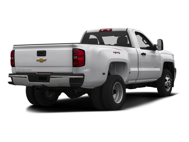 2016 Chevrolet Silverado 3500HD Prices and Values Regular Cab LT 2WD side rear view