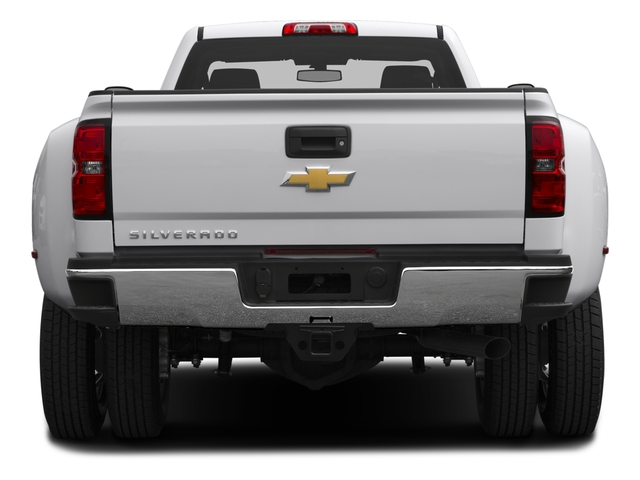 2016 Chevrolet Silverado 3500HD Prices and Values Regular Cab LT 2WD rear view