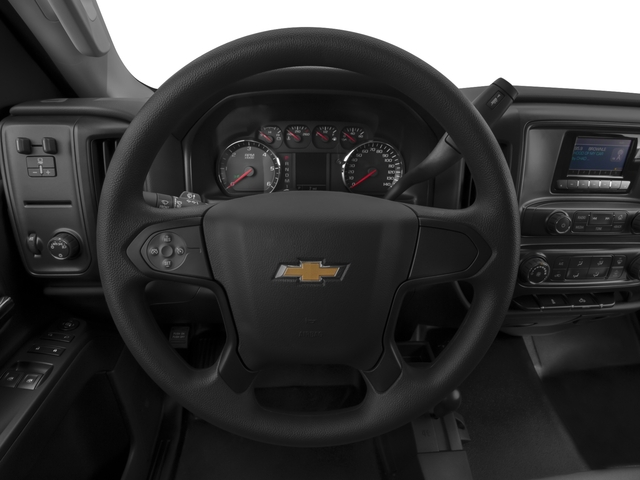2016 Chevrolet Silverado 3500HD Prices and Values Regular Cab LT 2WD driver's dashboard