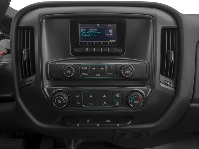 2016 Chevrolet Silverado 3500HD Prices and Values Regular Cab LT 2WD stereo system
