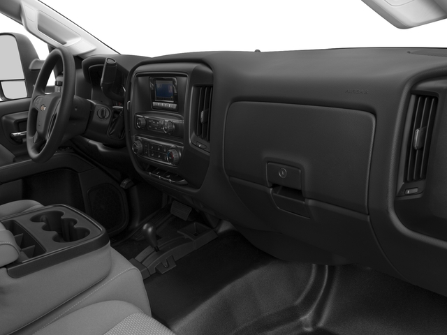 2016 Chevrolet Silverado 3500HD Prices and Values Regular Cab LT 2WD passenger's dashboard