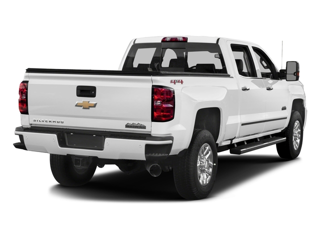 2016 Chevrolet Silverado 3500HD Prices and Values Crew Cab High Country 4WD side rear view