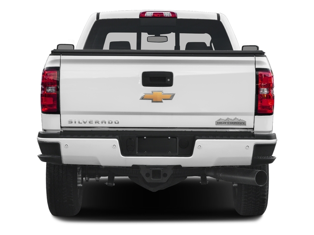 2016 Chevrolet Silverado 3500HD Prices and Values Crew Cab High Country 4WD rear view