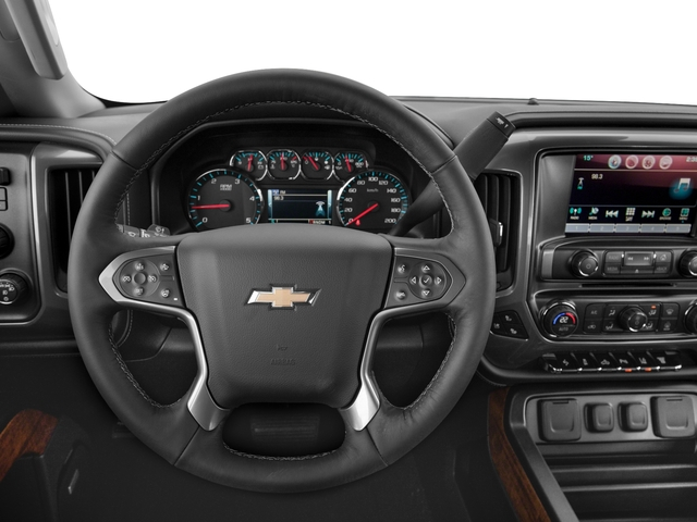 2016 Chevrolet Silverado 3500HD Prices and Values Crew Cab High Country 4WD driver's dashboard
