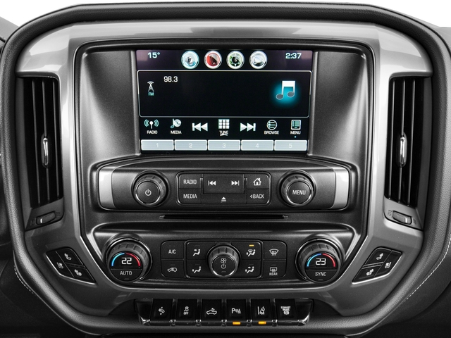 2016 Chevrolet Silverado 3500HD Prices and Values Crew Cab High Country 4WD stereo system