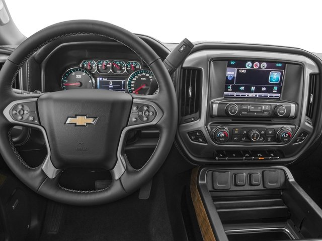 2016 Chevrolet Silverado 3500HD Prices and Values Crew Cab Work Truck 2WD driver's dashboard