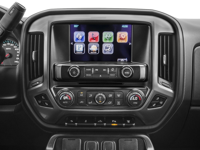 2016 Chevrolet Silverado 3500HD Prices and Values Crew Cab LTZ 2WD stereo system