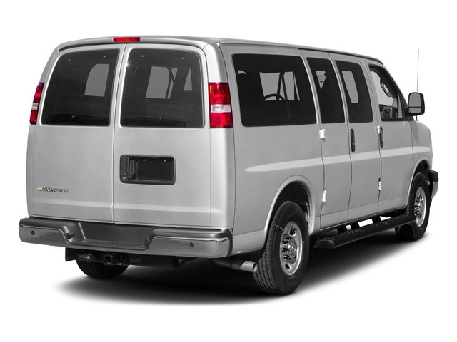 2016 Chevrolet Express Passenger Prices and Values Express Van LS 135  side rear view