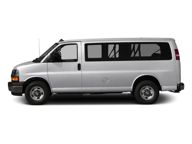 2016 Chevrolet Express Passenger Prices and Values Express Van LS 135  side view