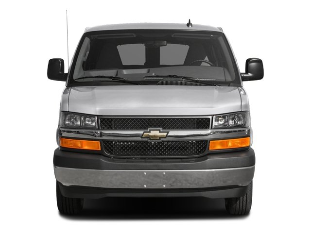 2016 Chevrolet Express Passenger Prices and Values Express Van LS 135  front view