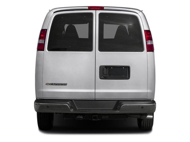 2016 Chevrolet Express Passenger Prices and Values Express Van LS 135  rear view