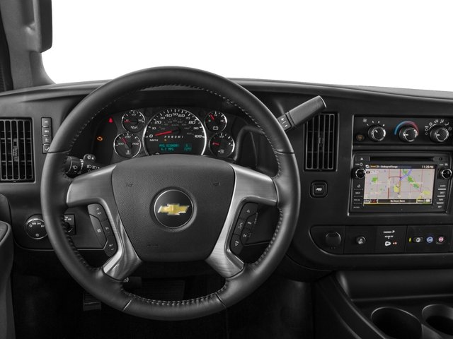 2016 Chevrolet Express Passenger Prices and Values Express Van LS 135  driver's dashboard