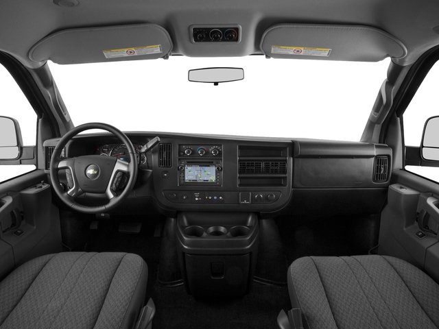 2016 Chevrolet Express Passenger Prices and Values Express Van LS 135  full dashboard
