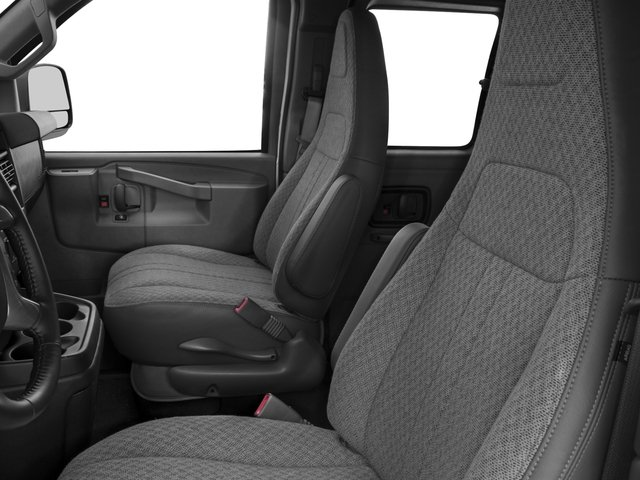 2016 Chevrolet Express Passenger Prices and Values Express Van LS 135  front seat interior