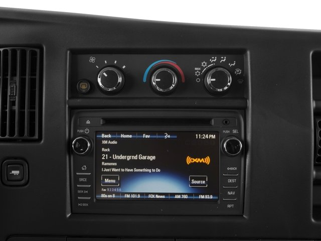 2016 Chevrolet Express Passenger Prices and Values Express Van LS 135  stereo system