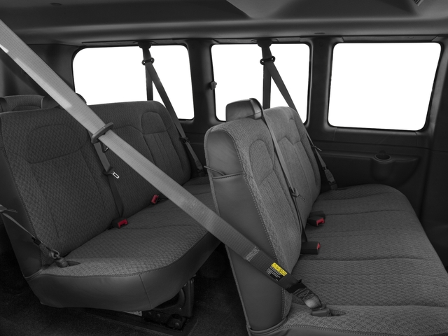 2016 Chevrolet Express Passenger Prices and Values Express Van LS 135  backseat interior