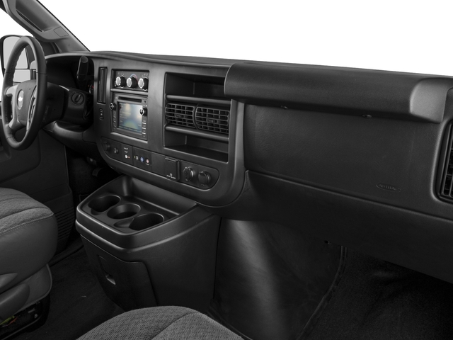 2016 Chevrolet Express Passenger Prices and Values Express Van LS 135  passenger's dashboard