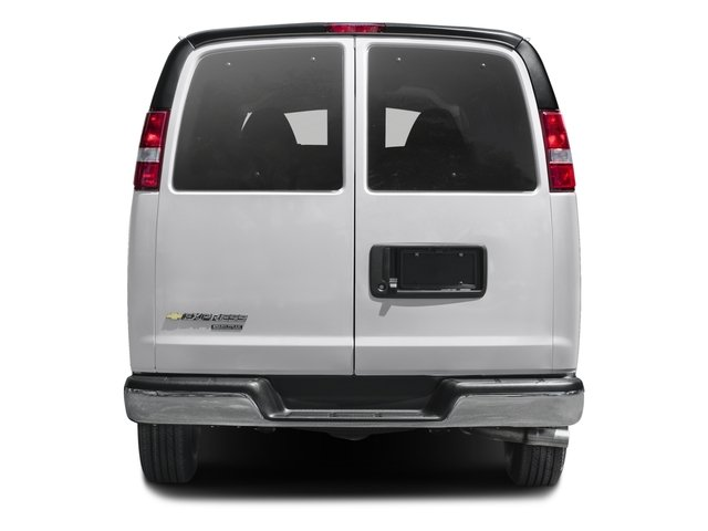 2016 Chevrolet Express Passenger Prices and Values Extended Express Van LS 155  rear view