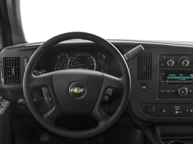 2016 Chevrolet Express Passenger Prices and Values Extended Express Van LS 155  driver's dashboard