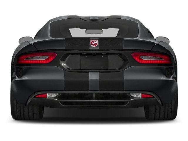 2016 Dodge Viper Prices and Values 2 Door Coupe rear view