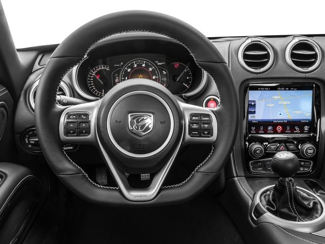 2016 Dodge Viper Prices and Values 2 Door Coupe driver's dashboard