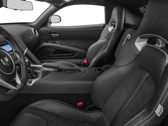 2016 Dodge Viper Prices and Values 2 Door Coupe front seat interior